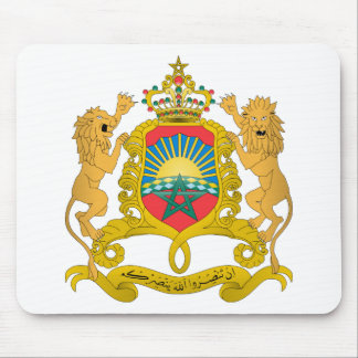 Morocco Coat of Arms Mousepads