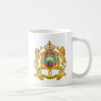 Morocco Coat Of Arms Classic White Coffee Mug