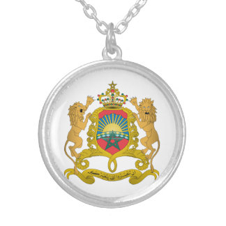 Morocco Coat Of Arms Pendant