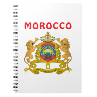 Morocco Coat Of Arms Note Book