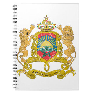 Morocco Coat Of Arms Notebooks