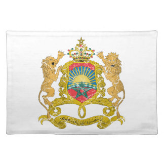 Morocco Coat Of Arms Placemats