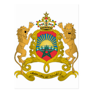 Morocco Coat Of Arms Postcards
