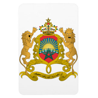 Morocco Coat Of Arms Vinyl Magnet