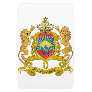 Morocco Coat Of Arms Rectangle Magnets