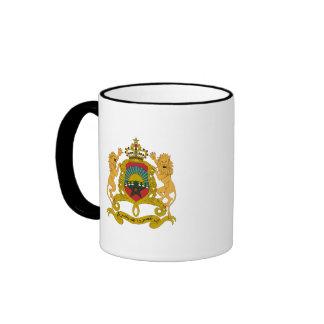 Morocco Coat of Arms Ringer Mug