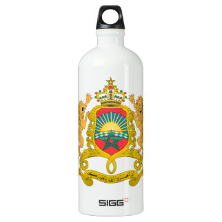 Morocco Coat of Arms SIGG Traveller 1.0L Water Bottle