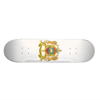 Morocco Coat Of Arms Skate Decks