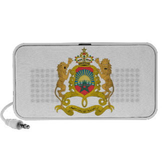 Morocco Coat Of Arms Notebook Speakers