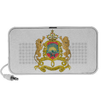 Morocco Coat Of Arms Portable Speakers