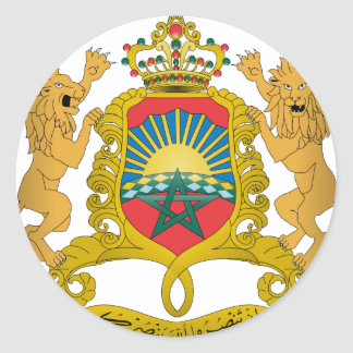Morocco Coat Of Arms Sticker