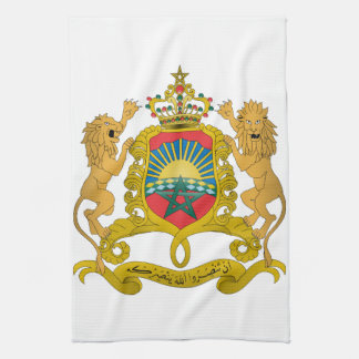Morocco Coat Of Arms Hand Towels