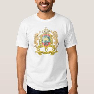 Morocco Coat Of Arms Tee Shirt
