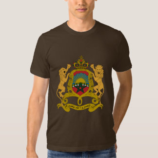 Morocco Coat of Arms Tshirts