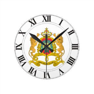 Morocco Coat of Arms Wallclock