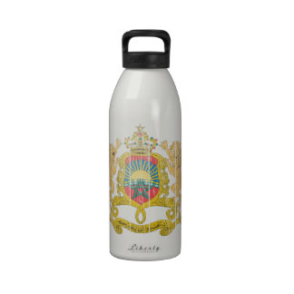 Morocco Coat Of Arms Drinking Bottle