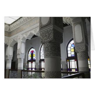 MOROCCO, Fes: Fes El, Bali (Old Fes), Riad Fes Greeting Card