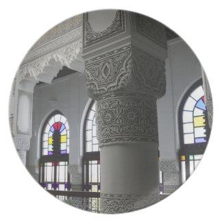 MOROCCO, Fes: Fes El, Bali (Old Fes), Riad Fes Plate