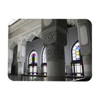 MOROCCO, Fes: Fes El, Bali (Old Fes), Riad Fes Rectangular Photo Magnet