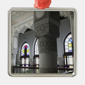 MOROCCO, Fes: Fes El, Bali (Old Fes), Riad Fes Silver-Colored Square Decoration