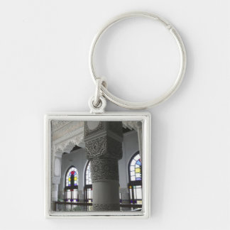 MOROCCO, Fes: Fes El, Bali (Old Fes), Riad Fes Silver-Colored Square Key Ring