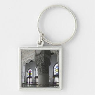MOROCCO, Fes: Fes El, Bali (Old Fes), Riad Fes Silver-Colored Square Key Ring