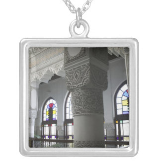 MOROCCO, Fes: Fes El, Bali (Old Fes), Riad Fes Square Pendant Necklace