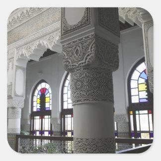 MOROCCO, Fes: Fes El, Bali (Old Fes), Riad Fes Square Sticker