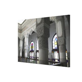 MOROCCO, Fes: Fes El, Bali (Old Fes), Riad Fes Stretched Canvas Print