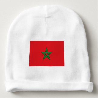 Morocco Flag Baby Beanie