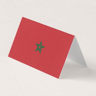 Morocco Flag Business Card