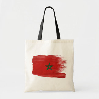 Morocco Flag Canvas Bags