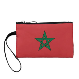 Morocco Flag Coin Purse