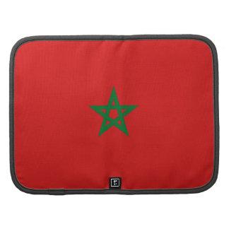 Morocco Flag Folio Organizer
