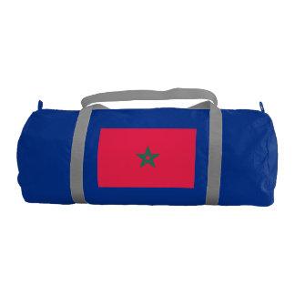 Morocco Flag Gym Duffel Bag