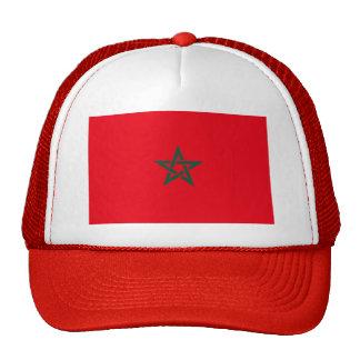 Morocco Flag Hats