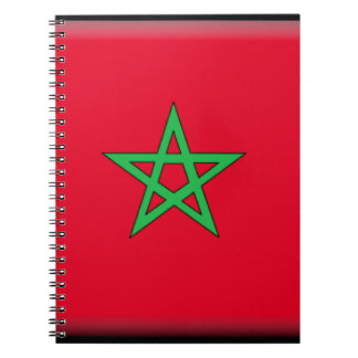 Morocco Flag Notebook