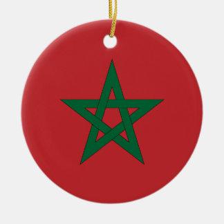 Morocco Flag Ornament
