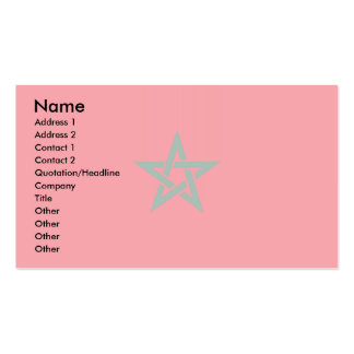 Morocco Flag Pack Of Standard Business Cards