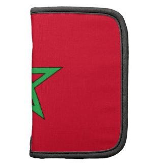 Morocco Flag Folio Planner