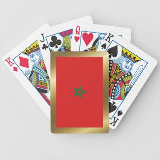 Morocco Flag Playing Cards