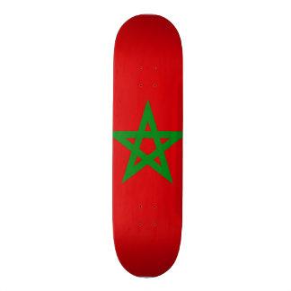 Morocco Flag Skate Board