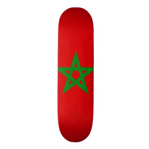 Morocco Flag Skate Boards