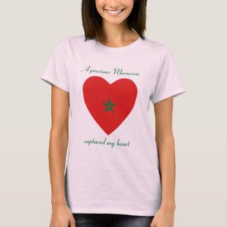 Morocco Flag Sweetheart T-Shirt