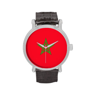 Morocco Flag Watches