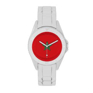Morocco Flag Wrist Watches