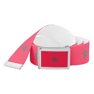 Morocco Flag Belt