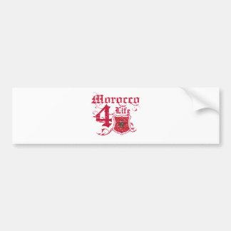 Morocco for life bumper sticker