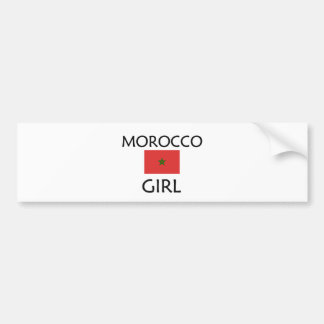 MOROCCO GIRL BUMPER STICKER