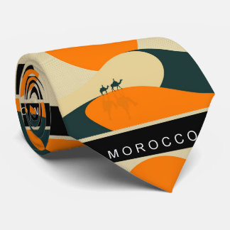 Morocco land of the Rising Sun on a Tie